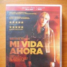 Cine: DVD MI VIDA AHORA - EDICION DE ALQUILER (DVD, NO INCLYE BLU-RAY) (P7). Lote 111584167