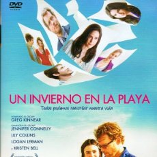 Cine: DVD UN INVIERNO EN LA PLAYA GREG KINNCER. Lote 111658639