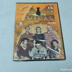 Cine: 7 VIDAS - TEMPORADA 2 CAPITULOS 29,30 DVD. Lote 111666891