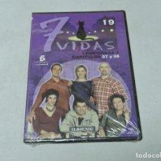 Cine: 7 VIDAS - TEMPORADA 2 CAPITULOS 37,38 DVD. Lote 111666987
