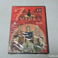 Cine: 7 VIDAS - TEMPORADA 2 CAPITULOS 33,34 DVD. Lote 111667619