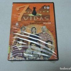 Cine: 7 VIDAS - TEMPORADA 2 CAPITULOS 31,32 DVD. Lote 111667687