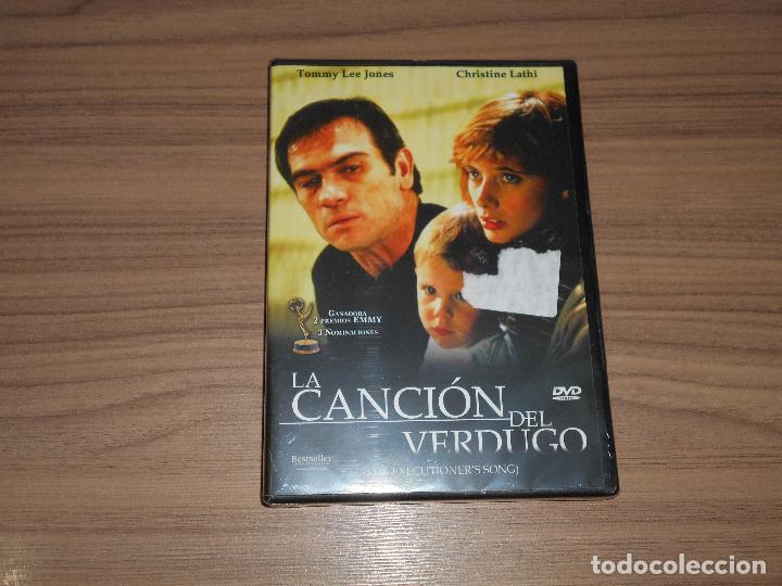 LA CANCION DEL VERDUGO DVD TOMMY LEE JONES NUEVA PRECINTADA (Cine - Películas - DVD)