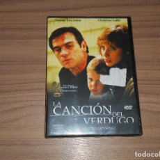Cine: LA CANCION DEL VERDUGO DVD TOMMY LEE JONES NUEVA PRECINTADA. Lote 195251307