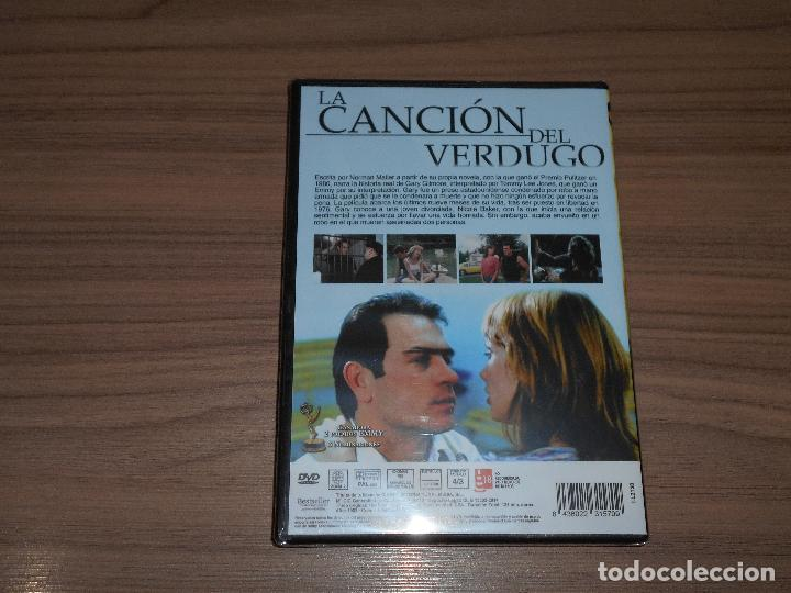 Cine: La CANCION del VERDUGO DVD Tommy Lee Jones NUEVA PRECINTADA - Foto 2 - 209768170