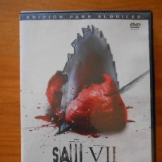 Cine: DVD SAW VII - EL CAPITULO FINAL - EDICION DE ALQUILER - LEER DESCRIPCION (5O). Lote 111712679