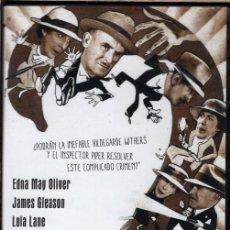 Cine: ASESINATO EN LA LUNA DE MIEL DVD - TRAMA COMO LAS DE AGATHA CHRISTIE...ASESINATO EN UN AVIÓN. Lote 131393405