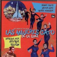 Cine: LAS MUJERES GATO DE LA LUNA DVD- EXTRAÑA INVASIÓN DE MUJERES CON UNAS ZARPAS QUE ..TE MUERES !. Lote 111723779