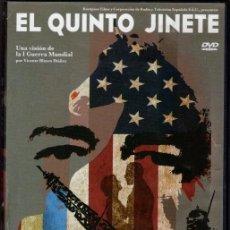 Cine: EL QUINTO JINETE DVD- .DESCATALOGADO!.DOCUMENTAL DRAMATIZADO DE VICENTE BLASCO IBAÑEZ Y LA II-GM. Lote 111725071