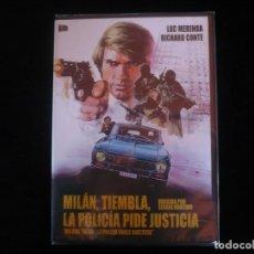 Cine: MILAN TIEMBLA LA POLICIA PIDE JUSTICIA - DVD NUEVO PRECINTADO. Lote 111761695