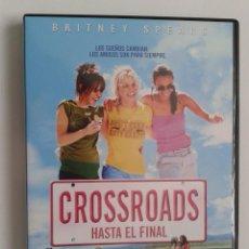 Cine: CROSSROADS (HASTA EL FINAL) ** DE TAMRA DAVIS CON BRITNEY SPEARS, ZOË SALDANA, ANSON MOUNT **. Lote 111814867