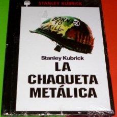 Cine: LA CHAQUETA METALICA / FULL METAL JACKET - DVD+LIBRO - PRECINTADA. Lote 111824599