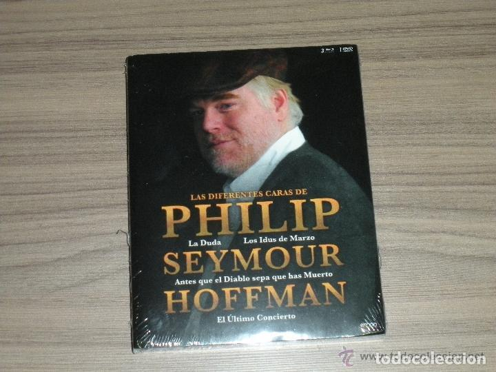 PAK PHILIP SEYMOUR HOFFMAN 4 BLU-RAY DISC LA DUDA - IDUS MARZO - DIABLO MUERTO ETC... PRECINTADO (Cine - Películas - DVD)