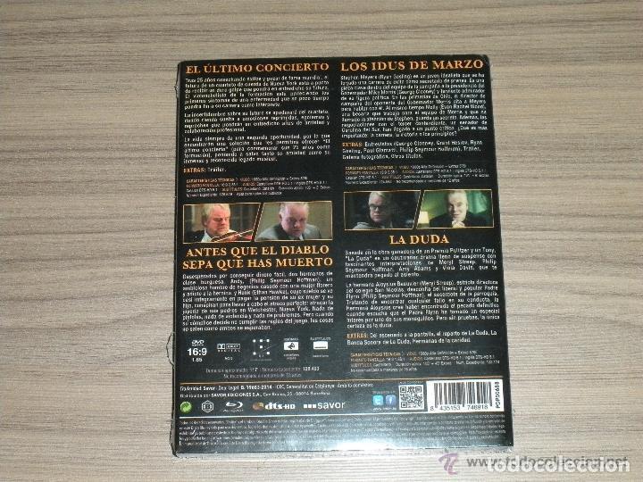 Cine: Pak PHILIP SEYMOUR HOFFMAN 4 Blu-Ray Disc LA DUDA - IDUS MARZO - DIABLO MUERTO etc... PRECINTADO - Foto 2 - 213605835