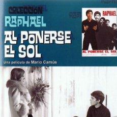 Cine: DVD AL PONERSE EL SOL RAPHAEL . Lote 111865899