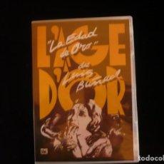 Cine: LA EDAD DE ORO DE LUIS BUÑUEL - DVD NUEVO PRECINTADO. Lote 111867023