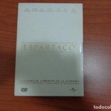 Cine: ESPARTACO 'EDICION ESPECIAL' 2 DVD. Lote 112025379