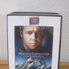 Cine: MASTER & COMMANDER - RUSSELL CROWE - DVD . Lote 112046775