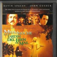 Cine: MEDIANOCHE EN EL JARDÍN DEL BIEN Y DEL MAL. DVD. CLINT EASTWOOD.. Lote 112049435