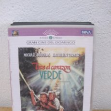 Cine: TRAS EL CORAZON VERDE - MICHAEL DOUGLAS KATHLEEN TURNER - DVD . Lote 112062555