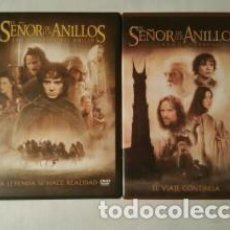 Cine: PACK EL SEÑOR DE LOS ANILLOS DVD. Lote 112080591