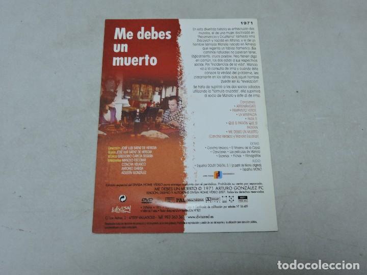 Cine: Me debes un muerto DVD - Foto 2 - 112094099