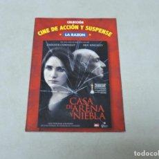 Cine: CASA DE ARENA Y NIEBLA DVD. Lote 112114111