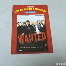 Cine: WANTED DVD. Lote 112114275