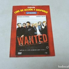 Cine: WANTED DVD. Lote 112115235