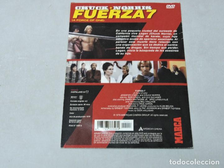 Cine: Fuerza 7 DVD - Foto 2 - 112129539