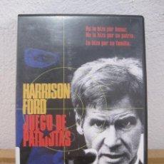Cine: JUEGO DE PATRIOTAS - HARRISON FORD - DVD . Lote 112194571