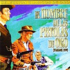 Cine: EL HOMBRE DE LAS PISTOLAS DE ORO DVD - COMO NUEVO. Lote 112210811