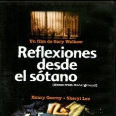 Cine: REFLEXIONES DESDE EL SOTANO (NOTES FOR UNDERGROUND) DVD - COMO NUEVO. Lote 112211128