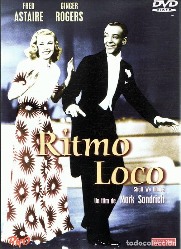 Dvd Ritmo Loco Fred Astaire Ginger Rogers Buy Dvd Movies At Todocoleccion 112212879