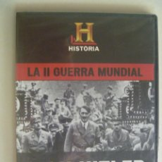 Cine: LA II GUERRA MUNDIAL - HIGH HITLER (BBC) DVD - NUEVO. Lote 112212914