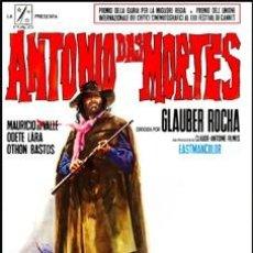 Cine: ANTONIO DAS MORTES - MAURICIO DO VALLE, ODETE LARA DVD NUEVO. Lote 113023926