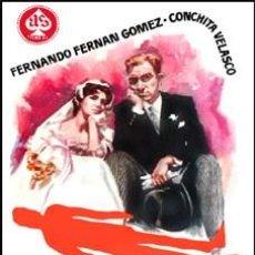 Cinéma: CRIMEN PARA RECIEN CASADOS - FERNANDO FERNÁN GÓMEZ, CONCHA VELASCO DVD NUEVO. Lote 181127637