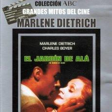 Cine: DVD EL JARDÍN DE ALÁ MARLENE DIETRICH . Lote 112312467