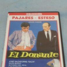 Cine: DVD. EL DONANTE. COLECCIÓN PAJARES Y ESTESO.. Lote 112462868