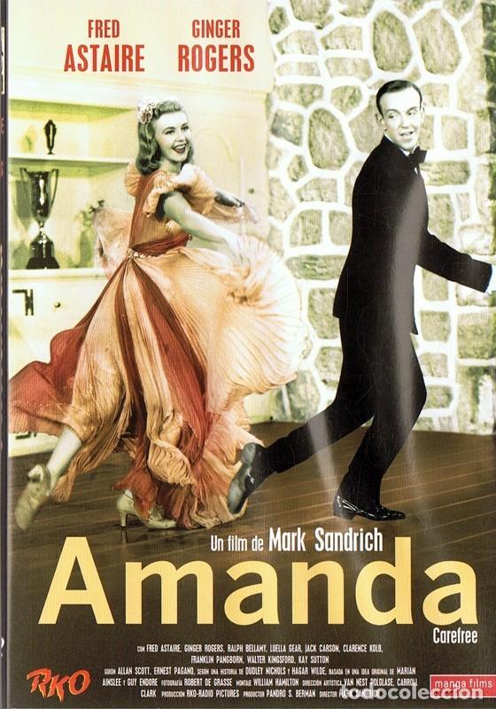 Dvd Amanda Fred Astaire Ginger Rogers Comprar Peliculas En Dvd En Todocoleccion 112511275