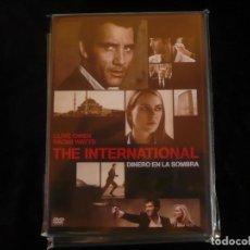 Cine: THE INTERNATIONAL, DINERO EN LA SOMBRA - DVD NUEVO PRECINTADO. Lote 112533647