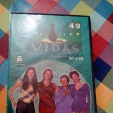 Cine: C1-___PELICULA DVD,DE LA SERIE 7 VIDAS ,TEMPORADA 4 ,CAPÍTULOS 97/98. Lote 112537707