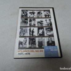 Cine: LOS AÑOS DEL NO-DO 1939-1976 DVD. Lote 112563807