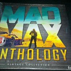 Cine: CINE DVD MAD MAX ANTHOLOGY. PACK 4 PELÍCULAS MAD MAX ED. LIMITADA VINTAGE PRECINTADO. Lote 112622003