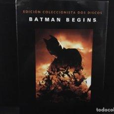 Cine: BATMAN BEGINS - 2 DVD EDICIÓN COLECCIONISTA. Lote 112632936