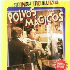 Cine: DVD POLVOS MÁGICOS ALFREDO LANDA. Lote 112697911