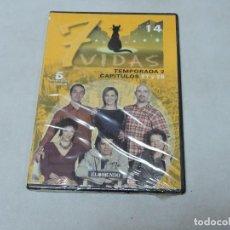 Cine: 7 VIDAS TEMPORADA 2 CAPITULOS 27,28 DVD. Lote 112723895
