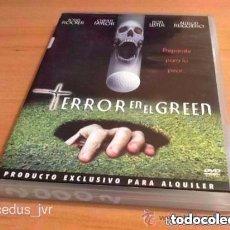 Cine: TERROR EN EL GREEN - PELÍCULA DE TERROR CINE EN DVD CON MUCHAS MARCAS NO FUNCIONA. Lote 112740387