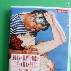 Cine: LA MUJER EN LA PLAYA - CON JOAN CRAWFORD Y JEFF CHANDLER. Lote 112759315