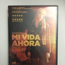 Cine: MI VIDA AHORA DVD. Lote 112759415